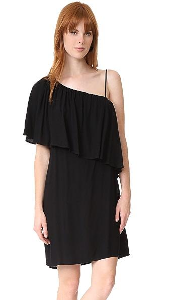 Ella Moss Stella One Shoulder Dress - Black