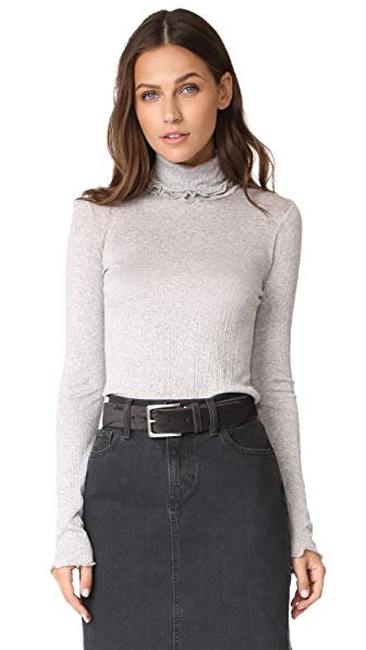 Ella Moss Gionnia Sweater In Heather Grey