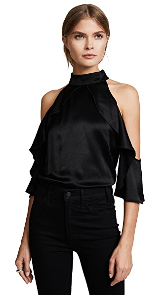 Ella Moss Bianka Blouse In Black