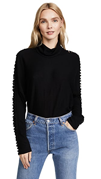 Ella Moss Victoire Top In Black