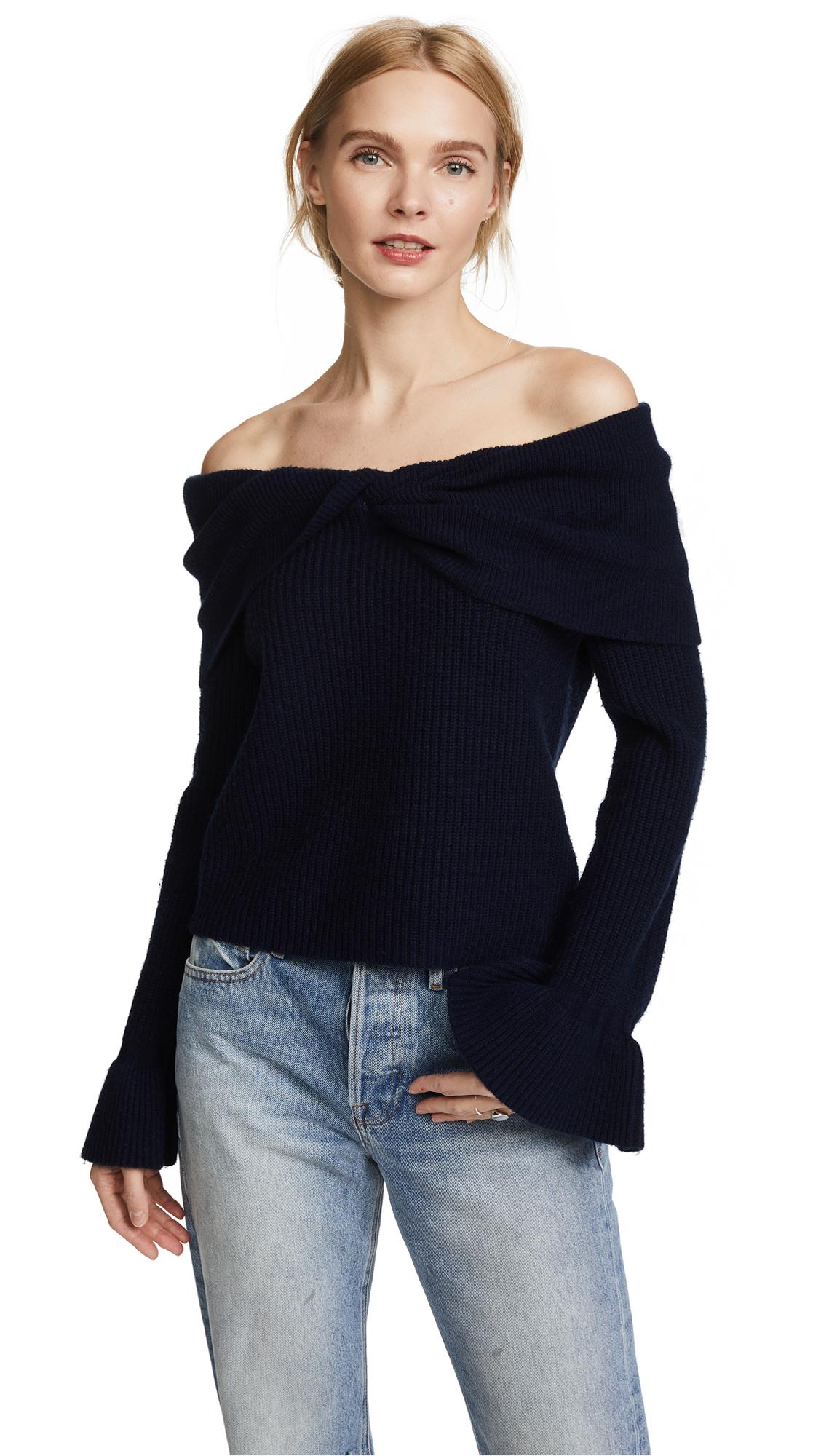 Ella Moss Jasinda Sweater - Navy