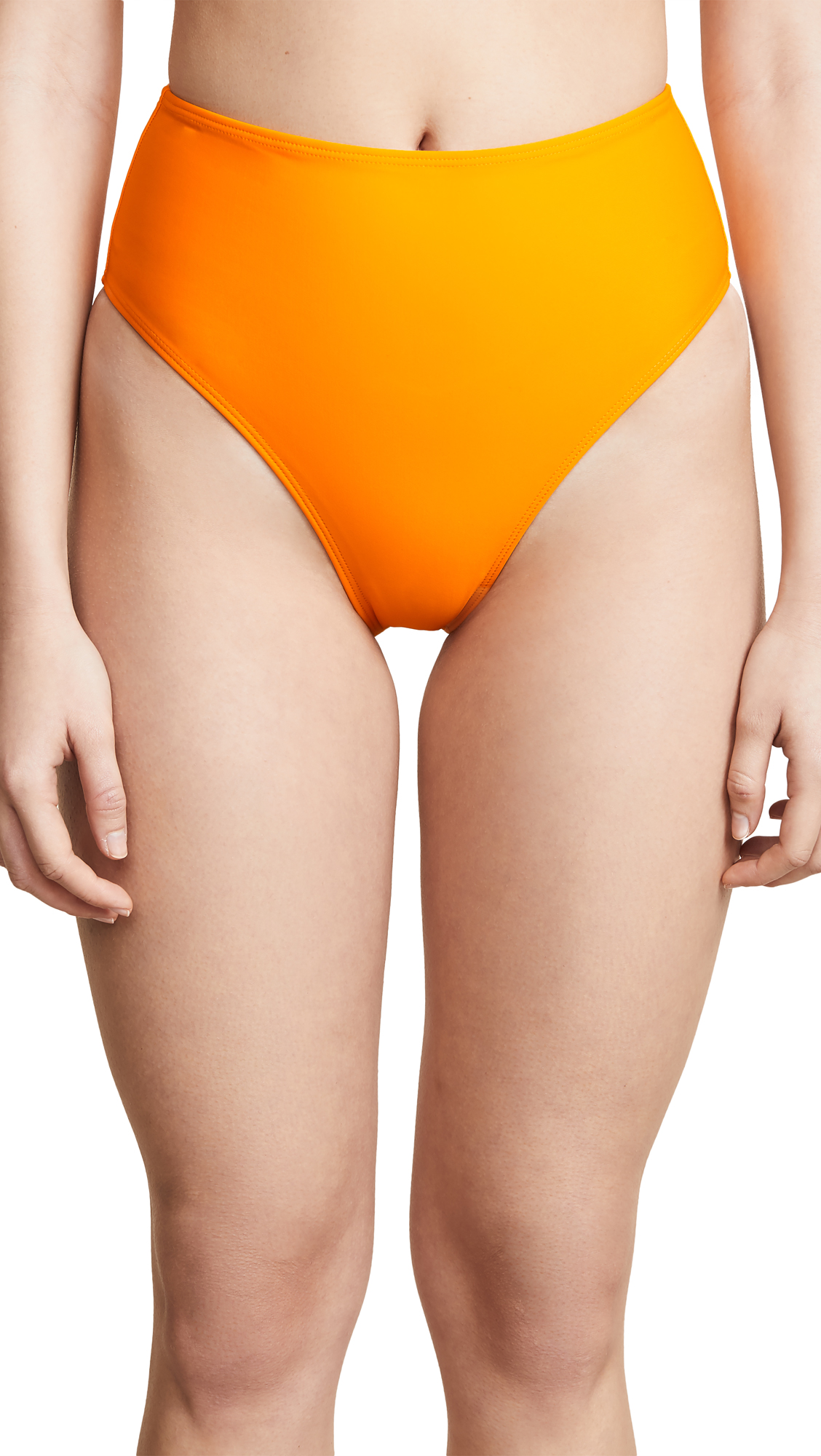 ELLEJAY Carolyn Bikini Bottoms in Orange