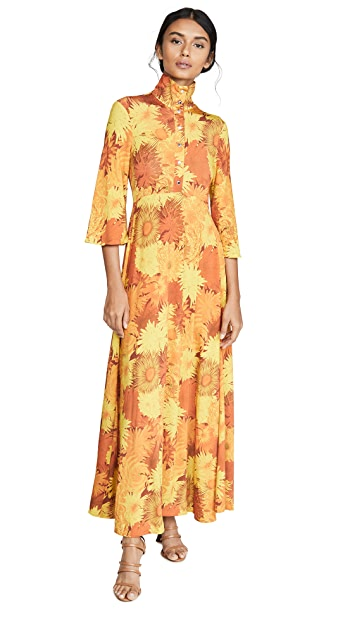 Ellery Soirée Mock Neck Dress