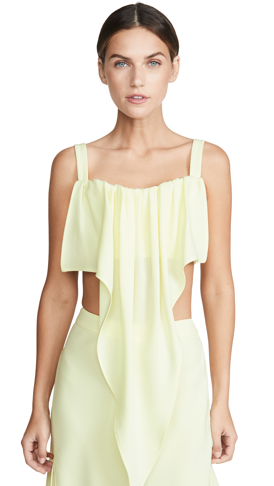 Buy Ellery online - photo of Ellery Pointy Drape Bra Top