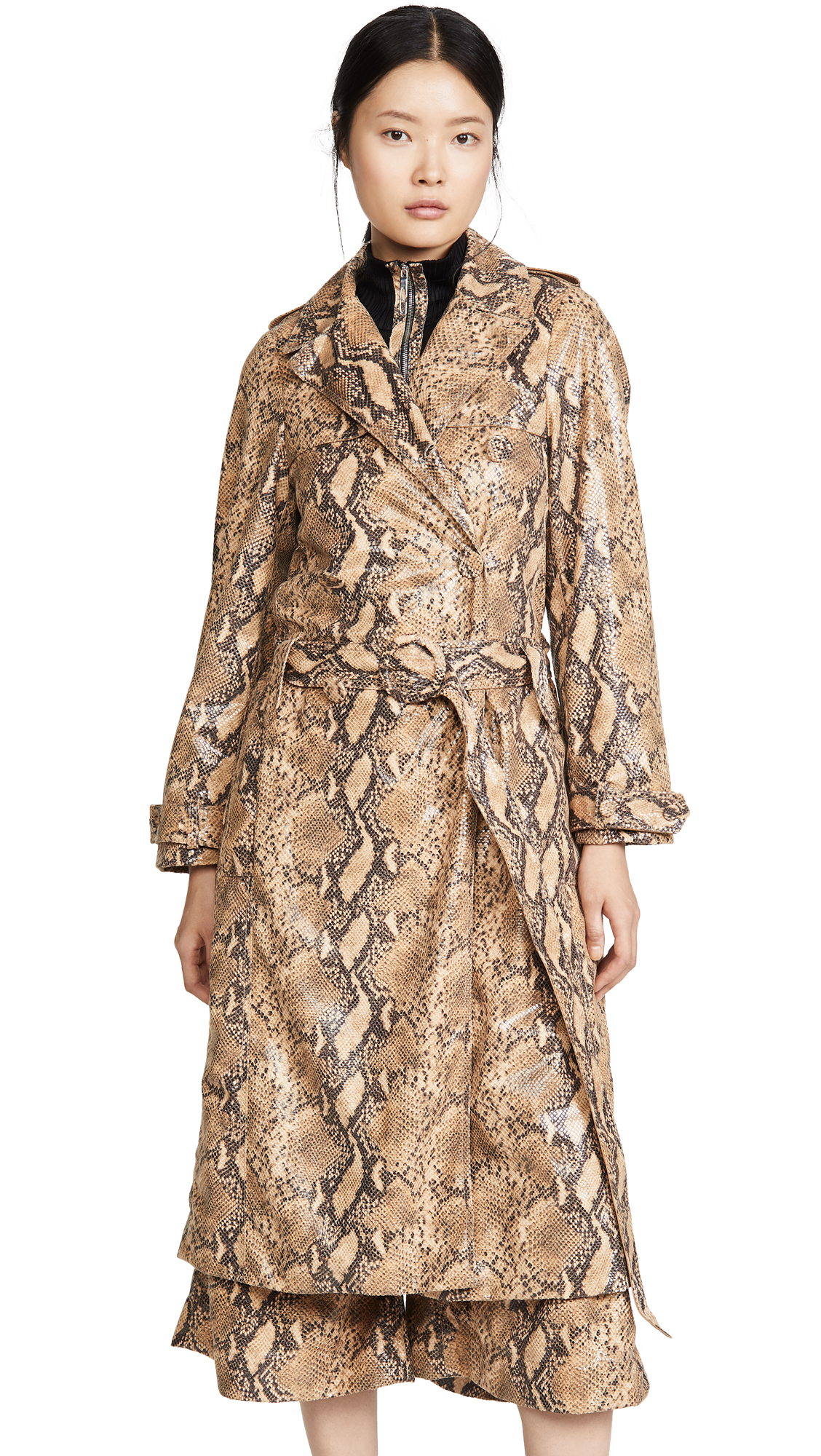 Buy Ellery online - photo of Ellery Spectrum Drop Waist Trench Coat