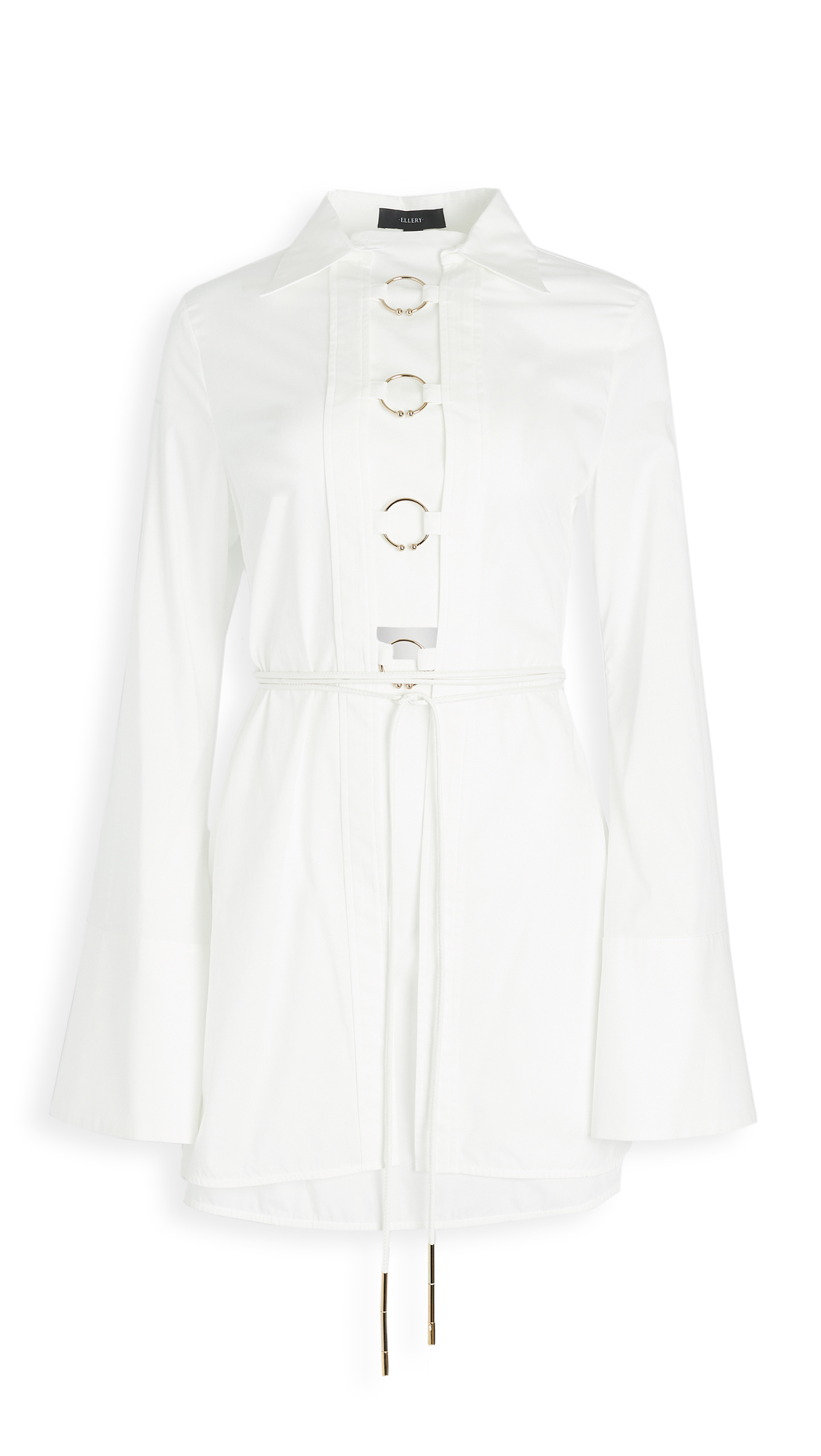 Ellery Samos Shirtdress with Rings - 20% Off Sale