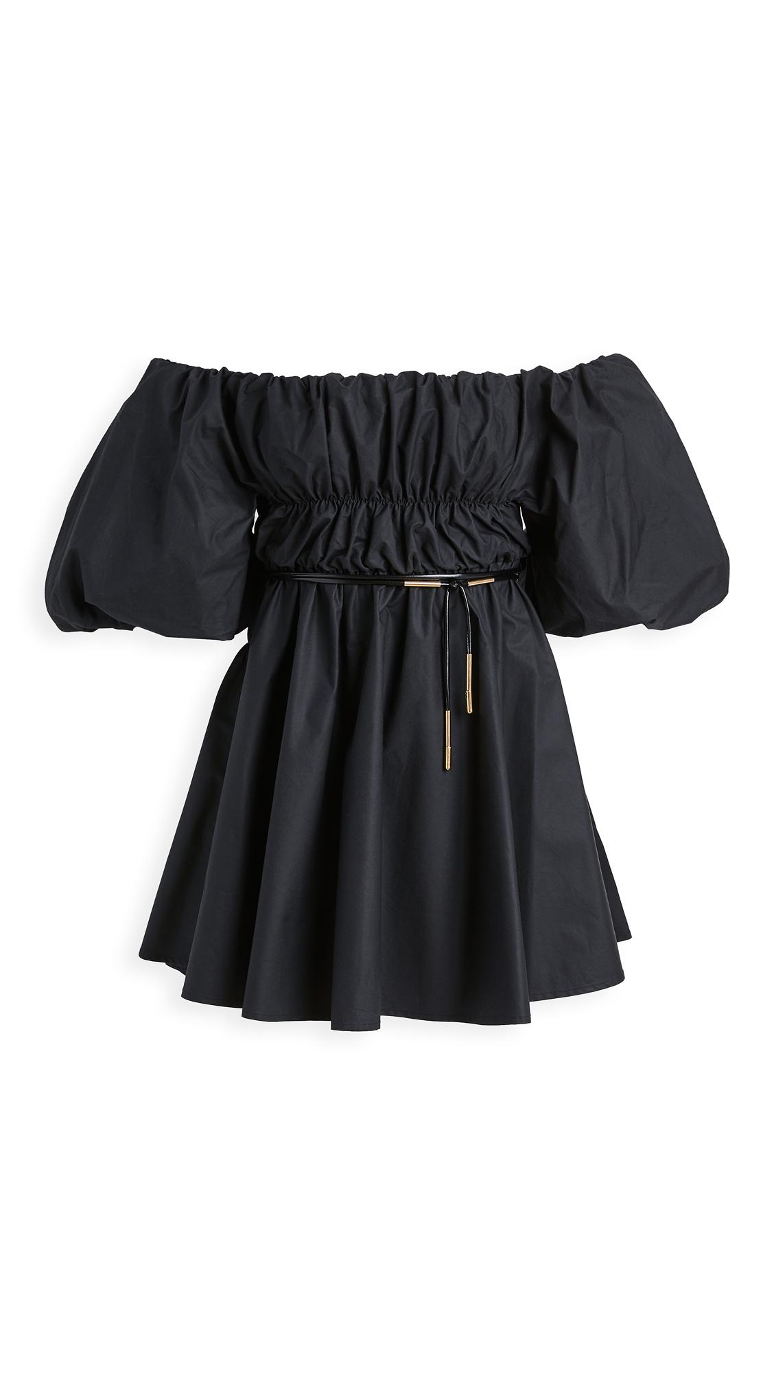 Ellery Freedom Off Shoulder Puffed Sleeve Dress - 30% Off Sale