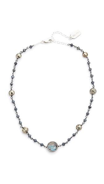 Ela Rae Libi Two Satellite Choker Necklace