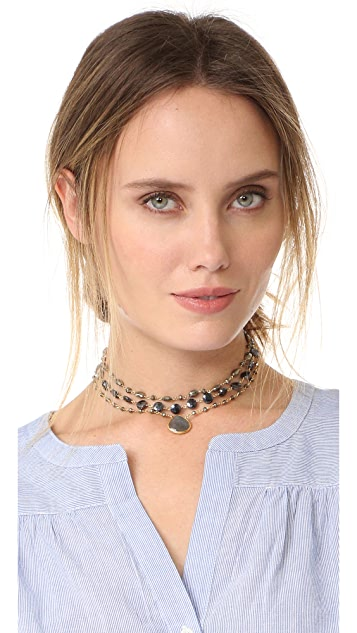 Ela Rae Multi Choker Necklace