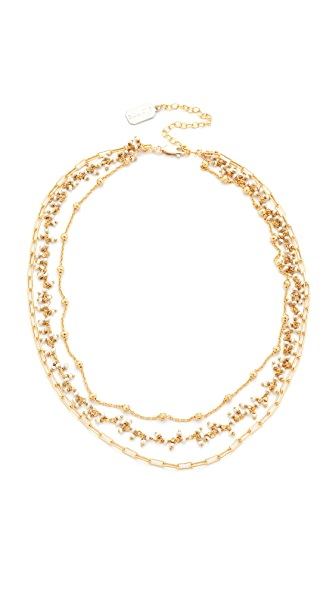 Ela Rae Three Layer Collar Necklace