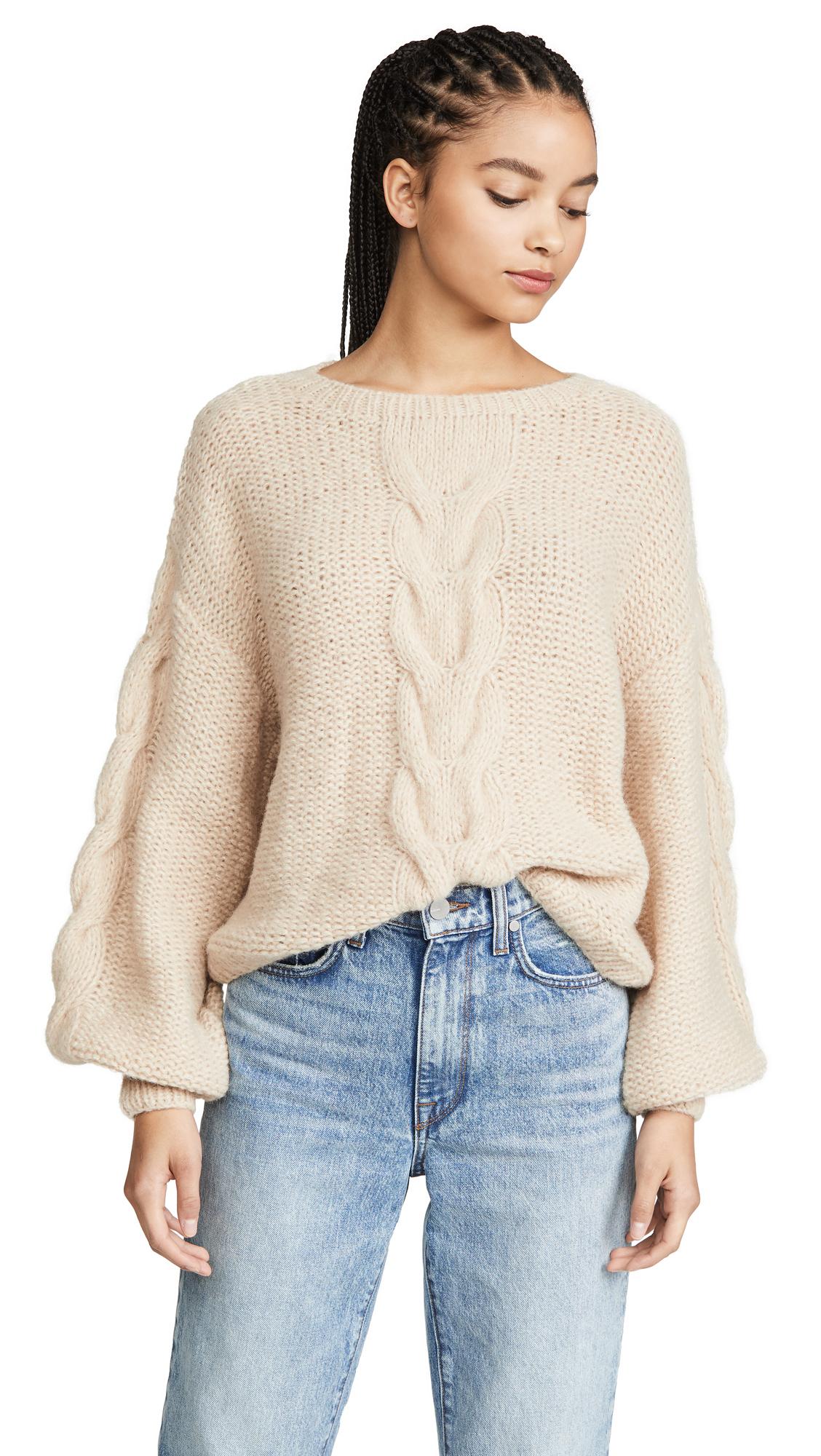 Buy Eleven Six online - photo of Eleven Six Sophia Alpaca Sweater