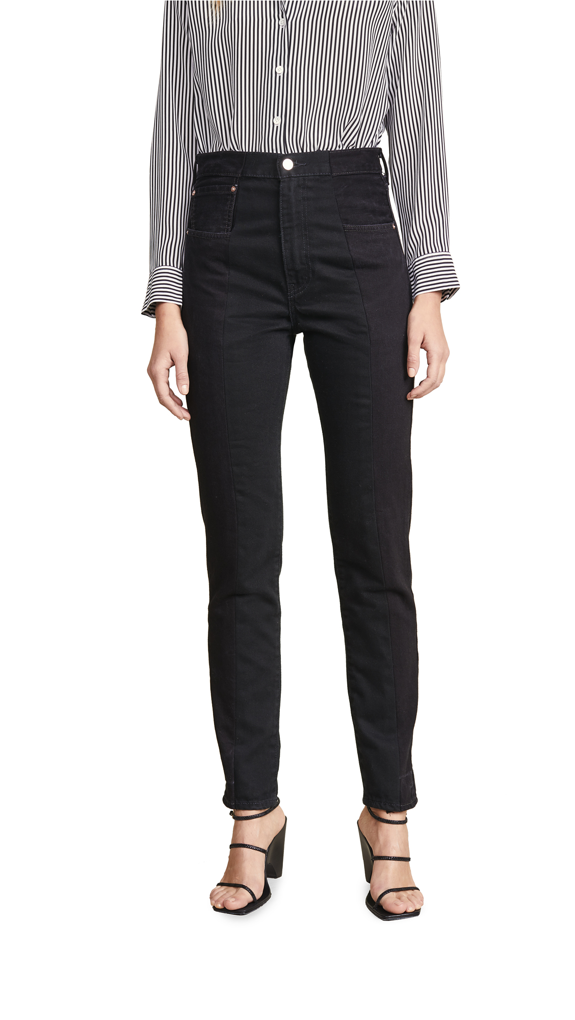 Buy E.L.V. Denim online - photo of E.L.V. Denim Twin Straight Leg Jeans