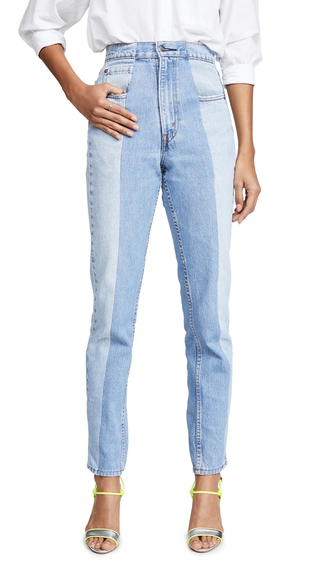 Buy E.L.V. Denim online - photo of E.L.V. Denim The Twin Straight Leg Jeans