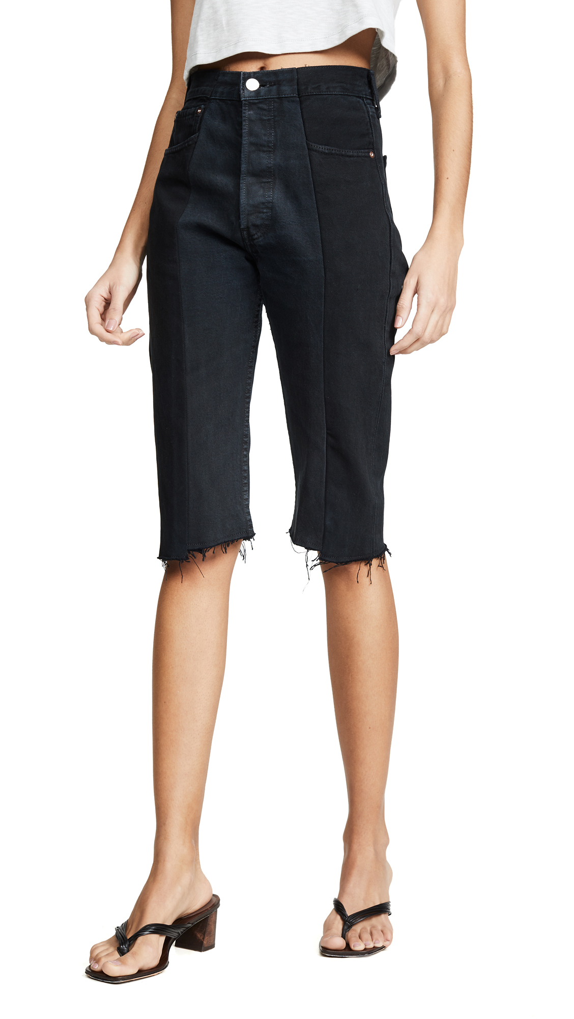 Buy E.L.V. Denim online - photo of E.L.V. Denim The Twin Shorts