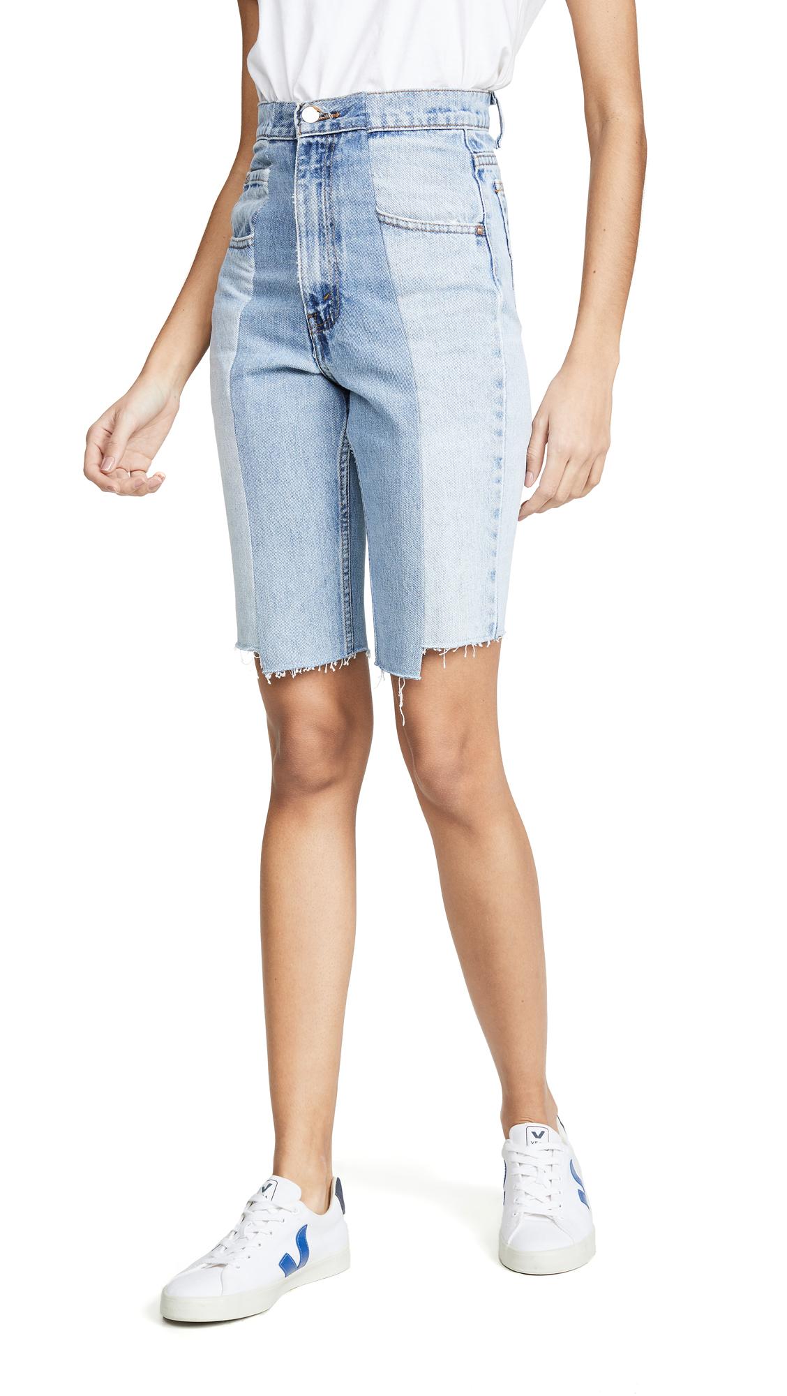 Buy E.L.V. Denim online - photo of E.L.V. Denim Twin Shorts