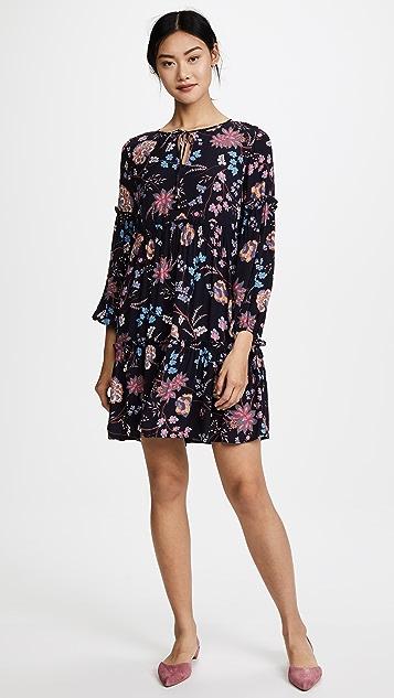 Ella Moon Floral Vine Dress