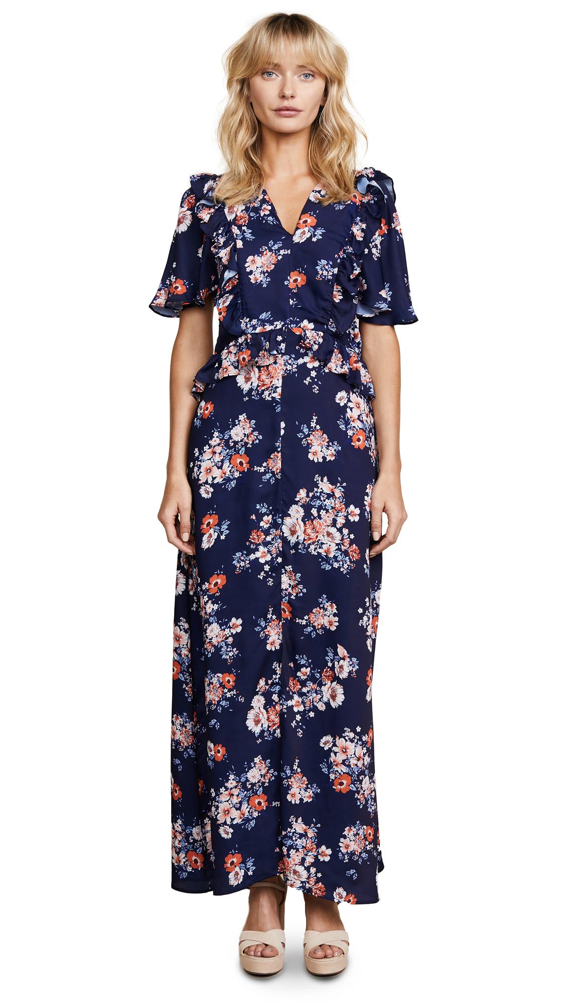 Ella Moon Floral Maxi Dress