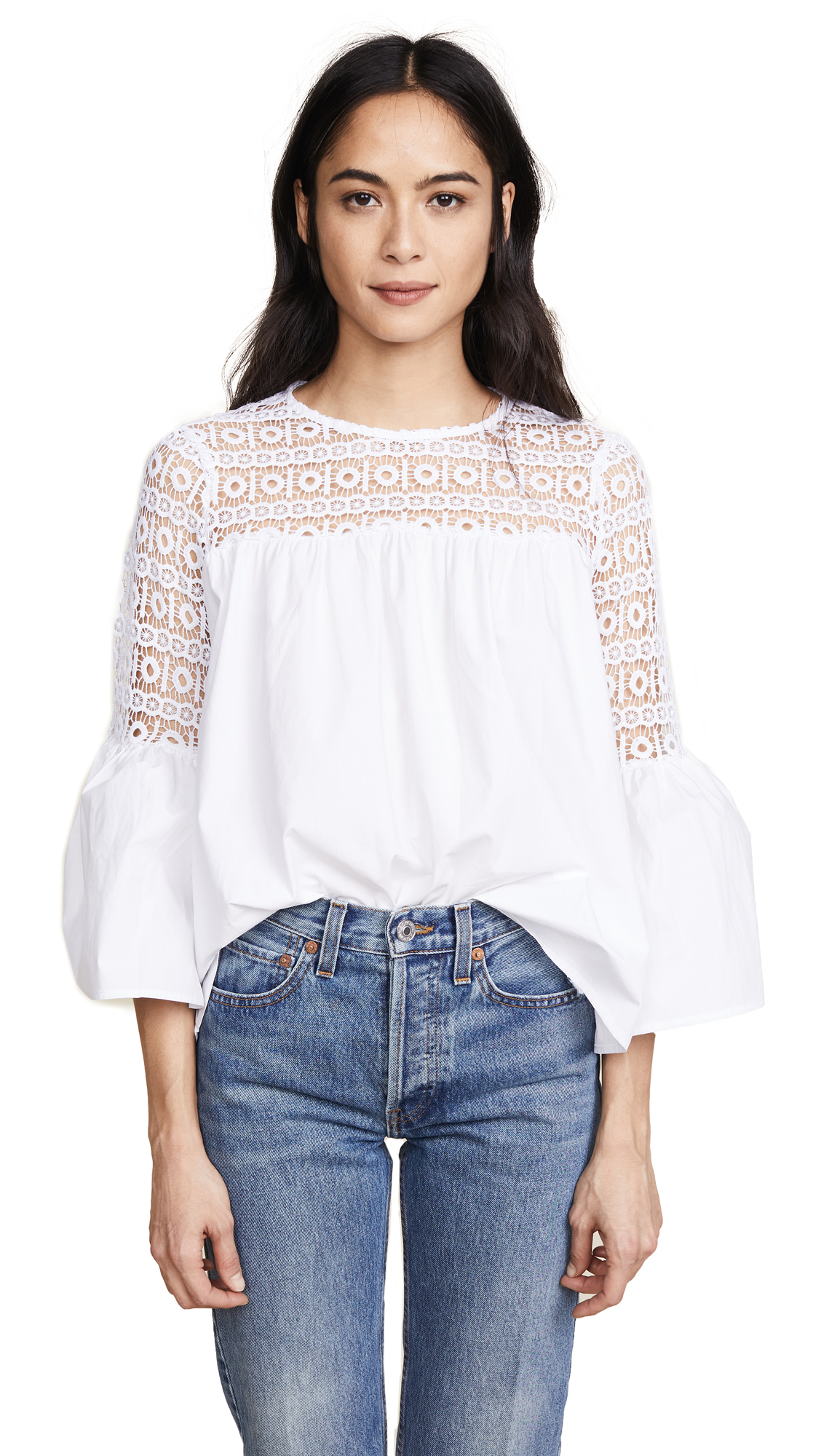 endless rose Boho Blouse - White