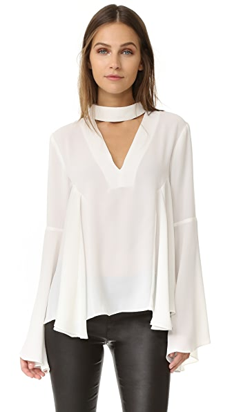 endless rose Collar Blouse