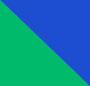 Emerald/Cobalt