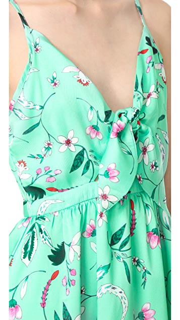 endless rose Aghetti Dress With Tied Ribbons