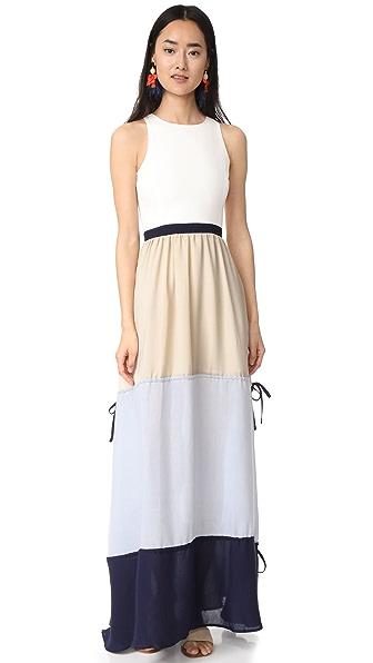 endless rose Tier Maxi Dress - Multi