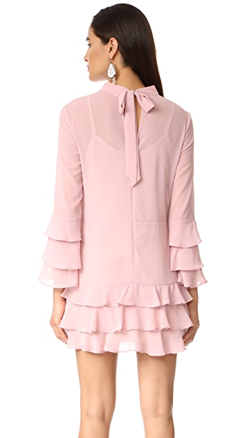 endless rose Dress With Tiered Sleeve