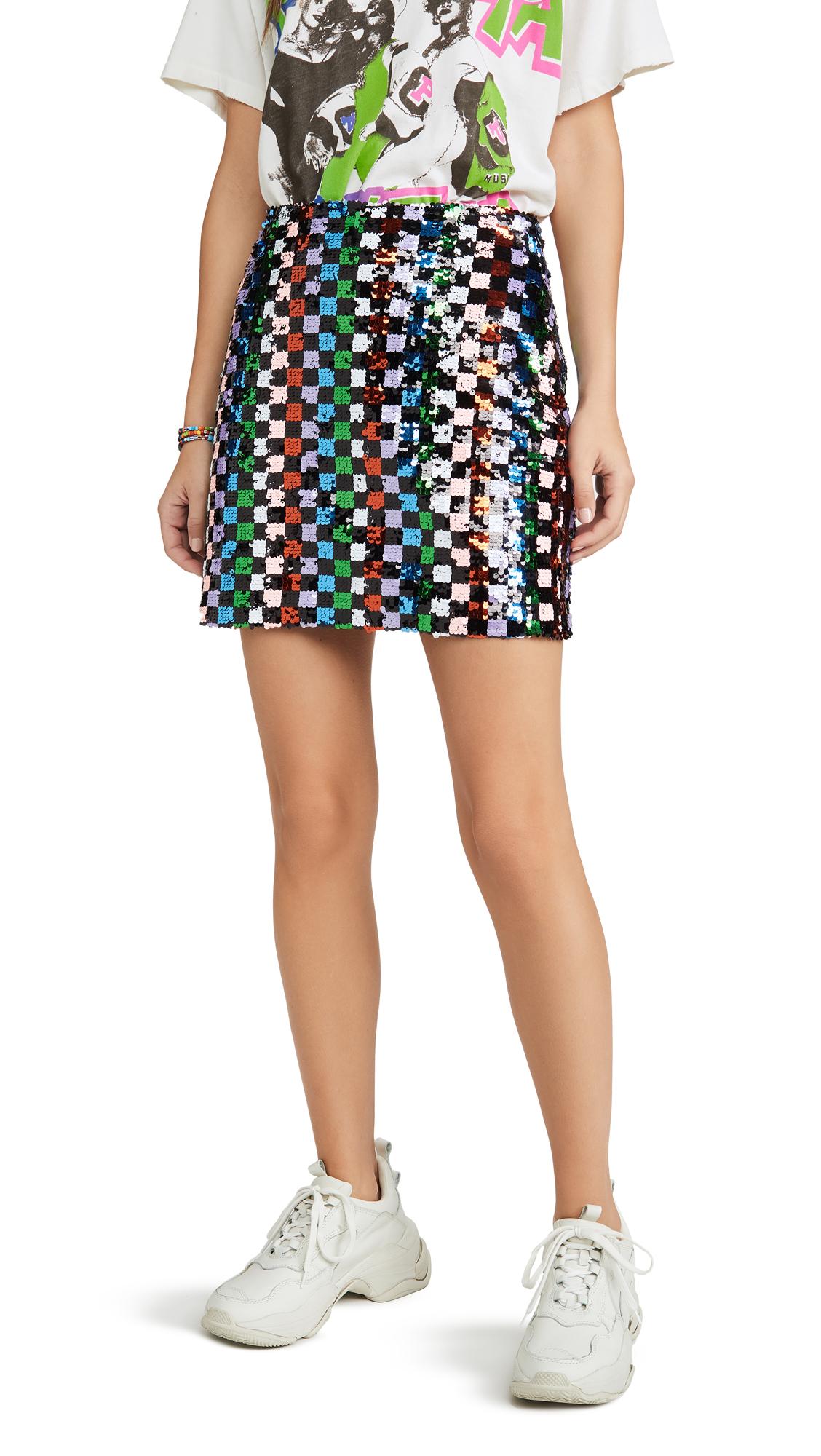 Buy endless rose online - photo of endless rose Multi Sequin Mini Skirt