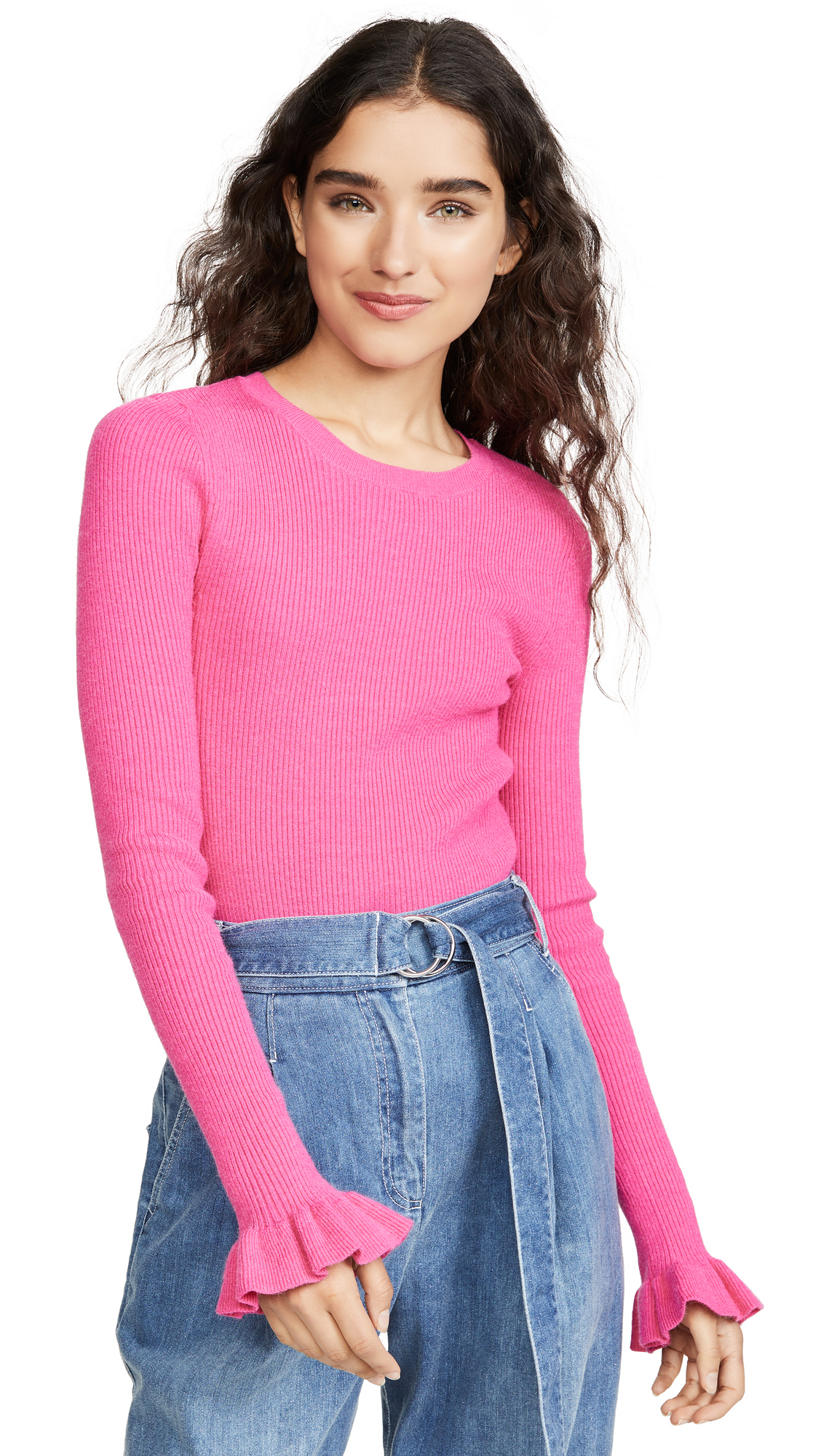 Buy endless rose online - photo of endless rose Flare Cuff Knit Top