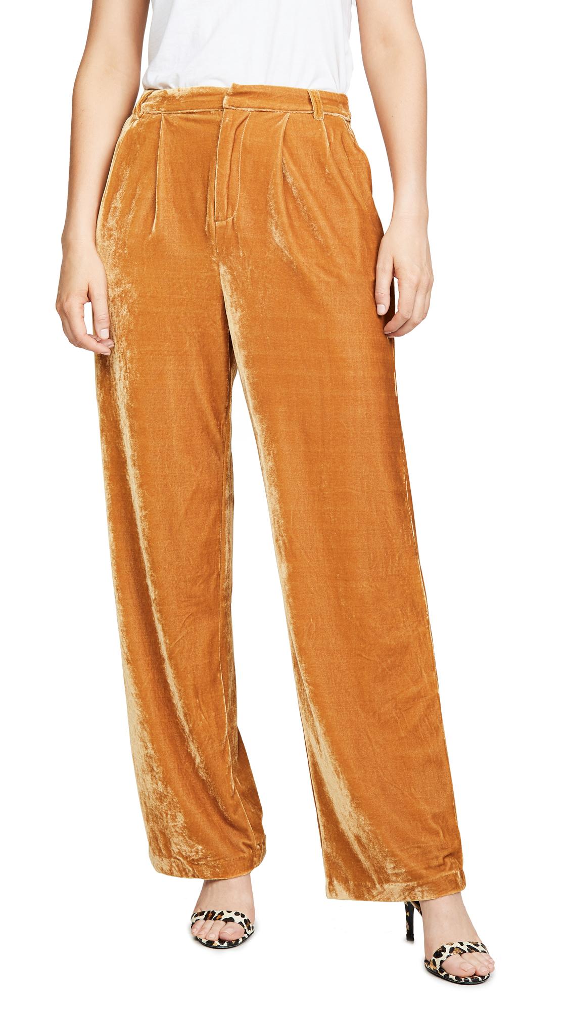 Buy endless rose online - photo of endless rose Velvet Wide Leg Pants