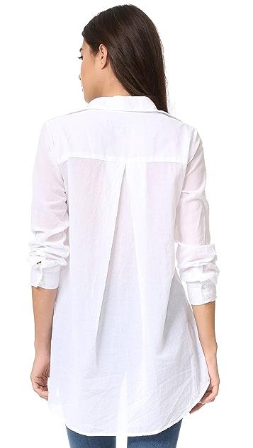 Enza Costa Hi Lo Shirt
