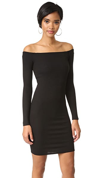 Enza Costa Off Shoulder Mini Dress