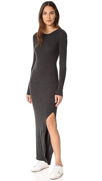 Enza Costa Cuffed Maxi Dress