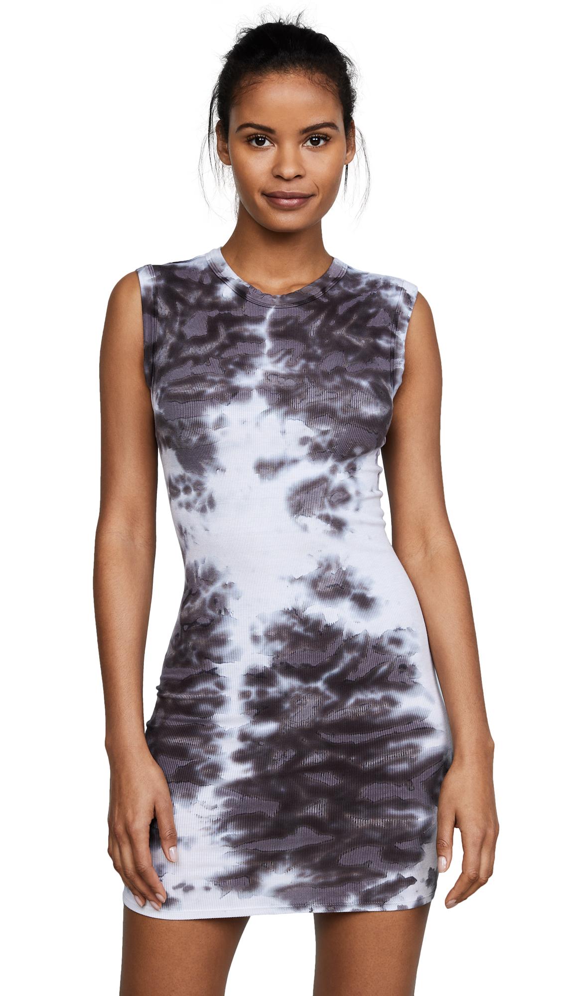 Enza Costa Rib Sleeveless Mini Dress