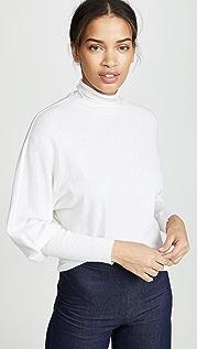 Enza Costa Cuffed Dolman Sweater