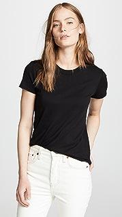 Enza Costa 经典短袖 T 恤