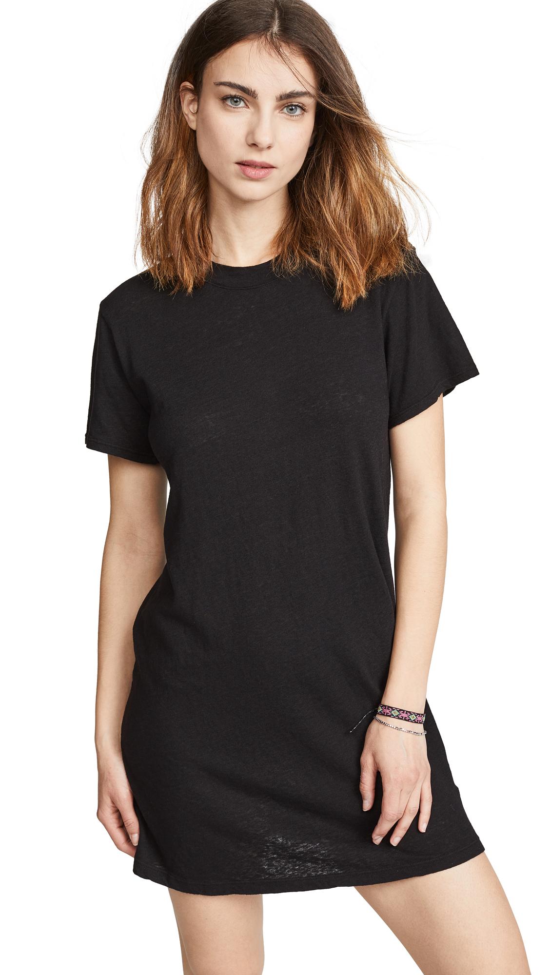 Buy Enza Costa Slubbed T-Shirt Dress online beautiful Enza Costa Clothing, Dresses