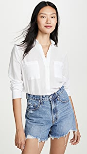 Enza Costa High Low Shirt