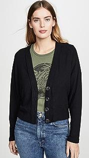 Enza Costa Кардиган свитерной вязки с заниженными плечами