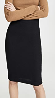 Enza Costa Sweater Knit Skirt