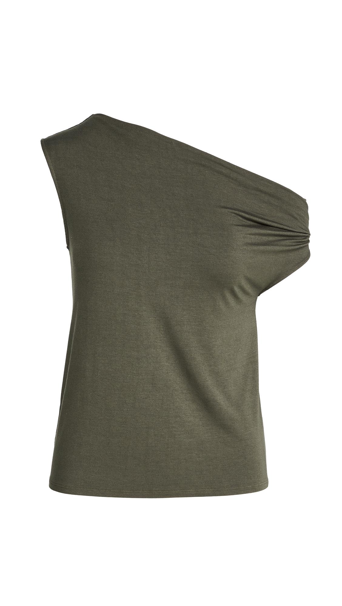 Enza Costa Silk Jersey Off Shoulder Top