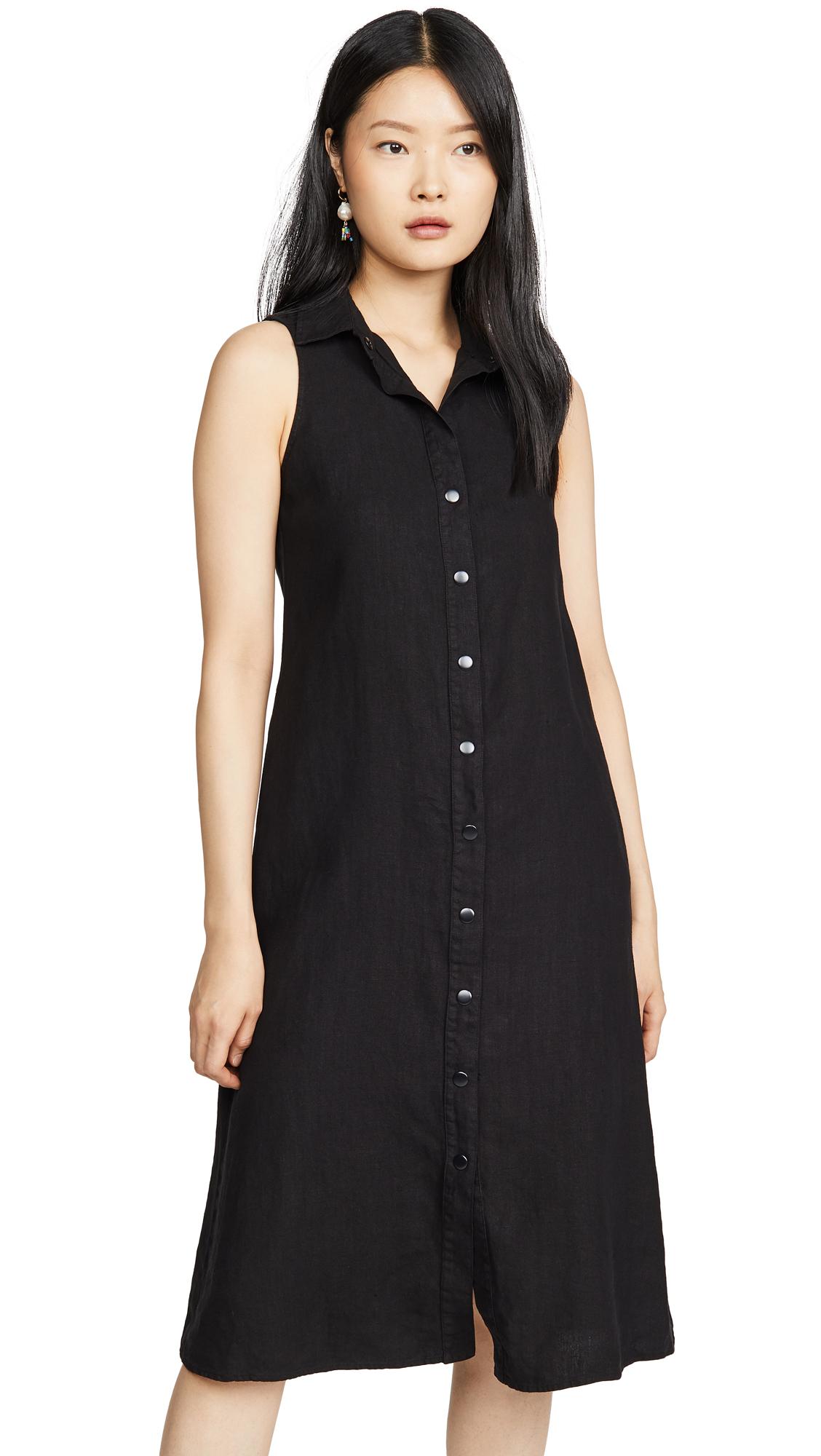 Buy Enza Costa online - photo of Enza Costa Hemp Sleeveless Midi Dress