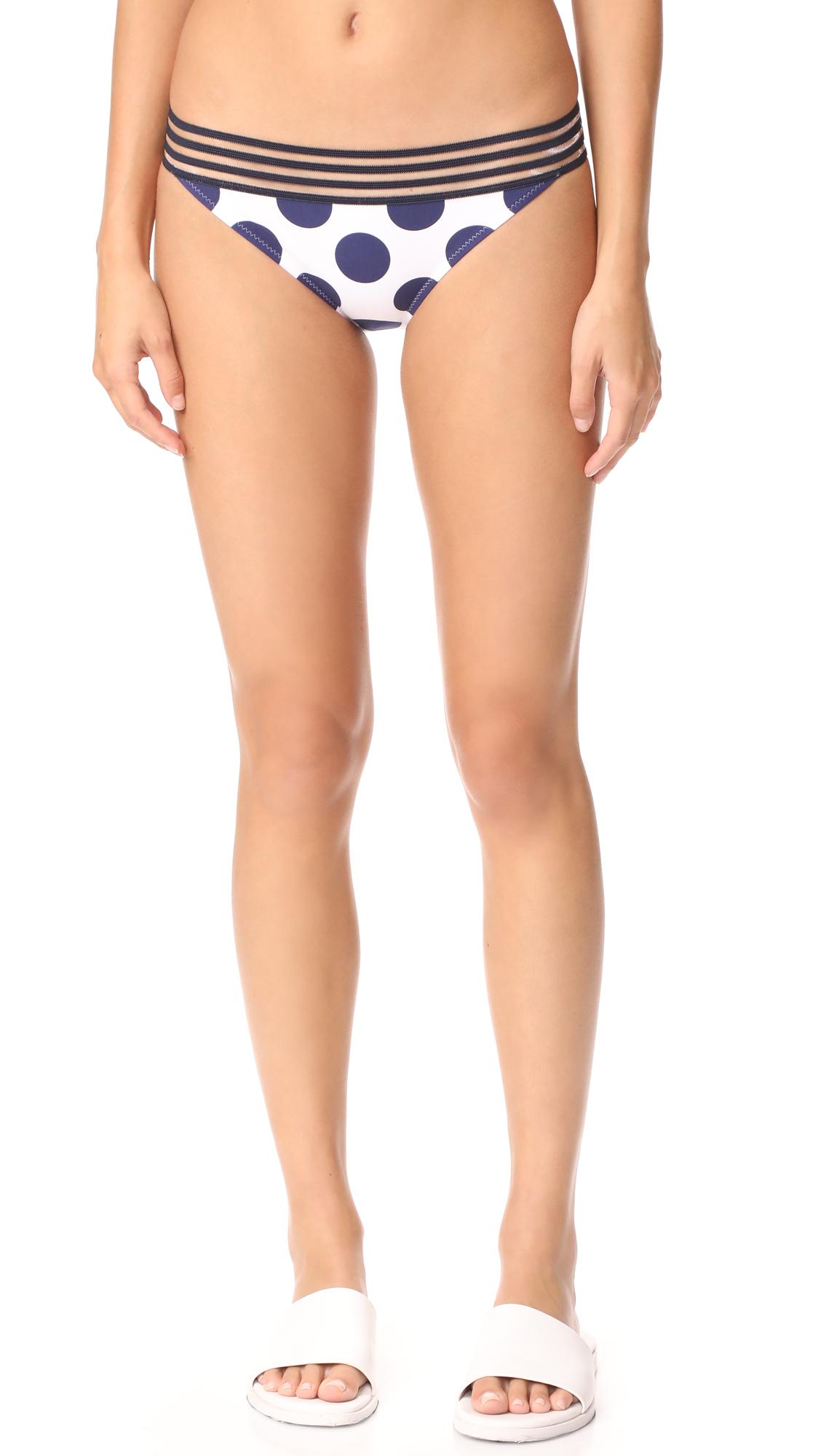 Emma Pake Adriana Bikini Bottoms - Polka Dot