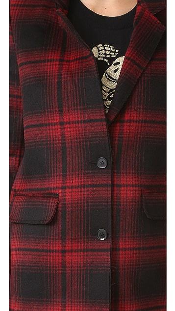ElevenParis Plaid Coat