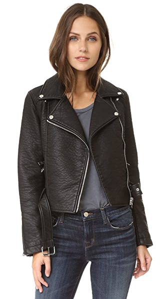 ElevenParis Leatherette Jacket