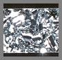 Black/Silver Confetti