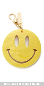 Happy Face Keychain Edie Parker