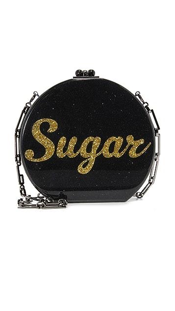 Edie Parker Oscar Sugar Bag