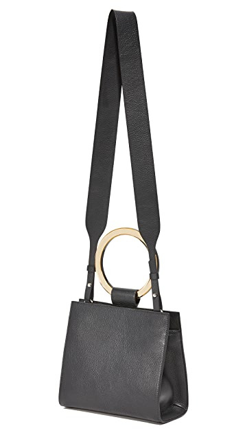 Edie Parker Deuces Leather Bag