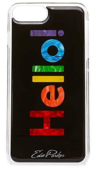 Edie Parker Hello iPhone 6 Plus / 6s Plus / 7 Plus Case - Multi